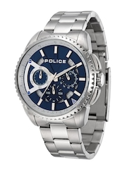 Police Men Blue Dial Chronograph Watch PL13648MS03MJ