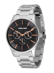 Police Men Black Dial Chronograph Watch PL14701JS02MJ