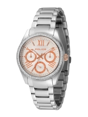 Police Women White Chronograph Dial Watch PL14628BS04MJ