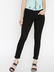 Allen Solly Woman Black Slim Fit Jeans