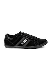 Tommy Hilfiger Men Black Suede Casual Shoes