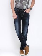 Killer Men Blue Slim Fit Low-Rise Clean Look Jeans