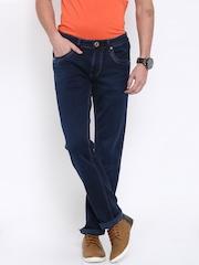 Killer Men Blue Slim Fit Mid Rise Clean Look Jeans