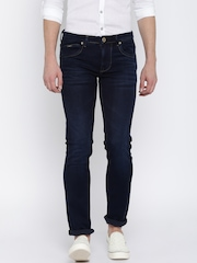 Killer Men Navy Blue Slim Fit Low-Rise Clean Look Jeans