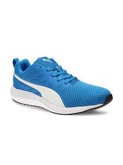 PUMA Men Blue Flare Mesh H2T Running Shoes
