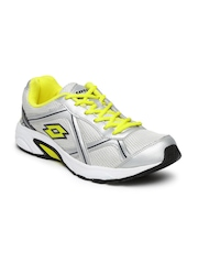 Lotto Men Silver-Toned Zest Running Shoes