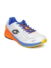 Lotto Men Off-White Running Shoes