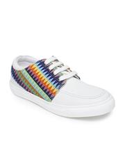Franco Leone Men Multicoloured Printed Sneakers