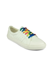 20Dresses Women White Solid Sneakers