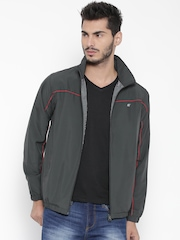 Fort Collins Grey Panelled Windcheater Jacket