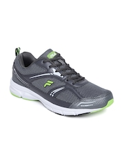 FILA Men Grey Active Lite Running Shoes