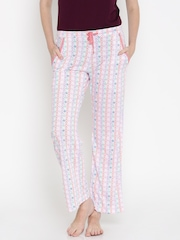 Jockey Multicoloured Printed Lounge Pants 1316-0103-RL047