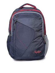 Skybags Unisex Navy Dunk 02 Laptop Backpack