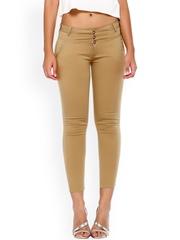 Xblues Beige Slim Jeans