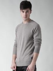 Scotch & Soda Men Grey Melange Sweater
