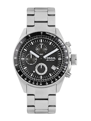 Fossil Men Black Chronograph Dial Watch CH2600IE