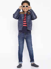 Yellow Kite Boys Blue Mid-Rise Clean Look Jeans