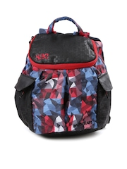 Wiki by Wildcraft Kids Black Printed Backpack
