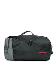 Wildcraft Men Black & Grey Combat Nova Duffel Bag