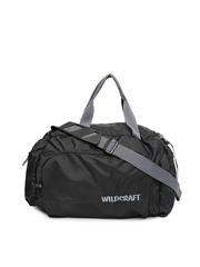 Wildcraft Men Black Orbit Nova Duffel Bag