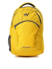 Wiki by Wildcraft Men Yellow Ace Laptop Backpack