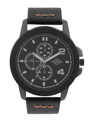 Roadster Men Black Dial Watch RD22-B
