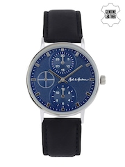 Mast & Harbour Men Blue Analogue Watch MH2-B