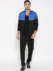 Adidas Blue & Black TS KN Colourblocked Training Tracksuit
