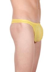 La Intimo Men Yellow Thongs LITH022YW0