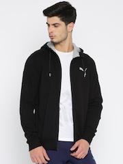 PUMA Black Hero FZ Hooded Jacket