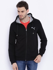 PUMA Black Hero FZ Hooded Jacket