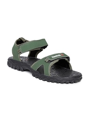 0d635c7c10a4 Reebok Men Green Aztrix Sports Sandals Reebok Sports Sandals available at  Myntra for Rs.999