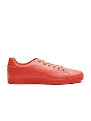 United Colors of Benetton Men Red Solid Sneakers