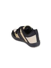 Lilliput Boys Black & Beige Colourblocked Regular Sneakers