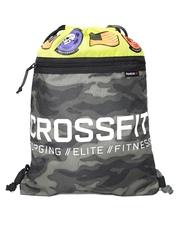 Reebok Unisex Olive Green Camouflage Print Training CrossFit Gym Sack AY0617
