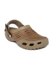 Crocs Men Khaki Yukon Sport Clogs
