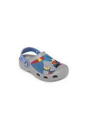 Crocs Boys Blue Printed CC Batman Clogs