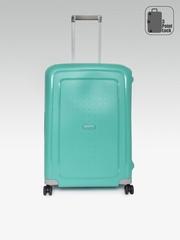 Samsonite Unisex Blue S'cure SP Medium Trolley Suitcase