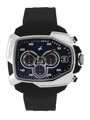 Fastrack Men Blue Dial Chronograph Watch 38005PP02J