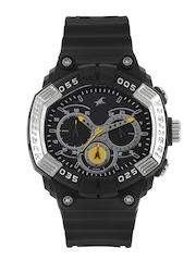 Fastrack Men Black Dial Chronograph Watch 38006PP02J