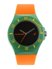 Fastrack Unisex Black Dial Watch 9949PP07