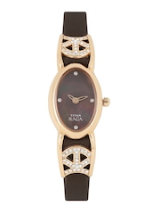 Titan Raga Women Brown Dial Watch NE9933WL01J