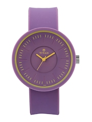 Titan Women Purple Dial Watch