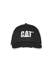 CAT Men Black Insert Embroidered Cap