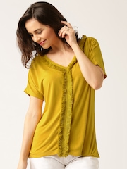 All About You from Deepika Padukone Mustard Yellow Top