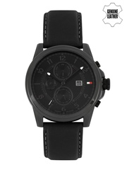Tommy Hilfiger Men Black Chronograph Analogue Watch NATH1710295J