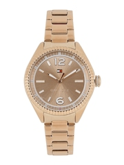 Tommy Hilfiger Women Rose Gold-Toned Analogue Watch NATH1781521J