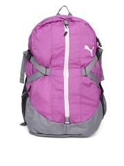 Puma Unisex Purple Apex Laptop Backpack
