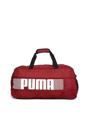 PUMA Unisex Red Pioneer Sports Duffel Bag