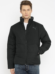PUMA Black Quilted Jacket
